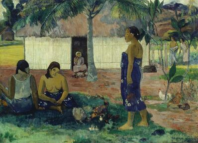 Paul Gauguin, 'Why Are You Angry? (No Te Aha Oe Riri)', 1896