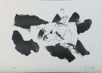 James Brooks (1906-1992), 'Black and White', 1960-1965