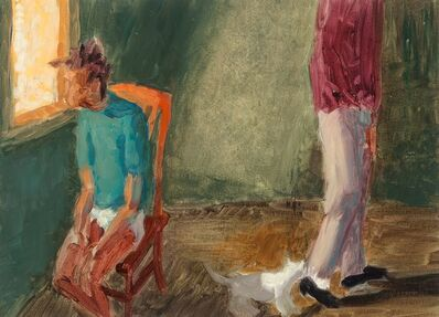 Hugh Steers, 'White Cat Leaving', 1987
