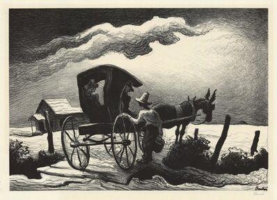 Thomas Hart Benton, 'Gateside Conversation.', 1946