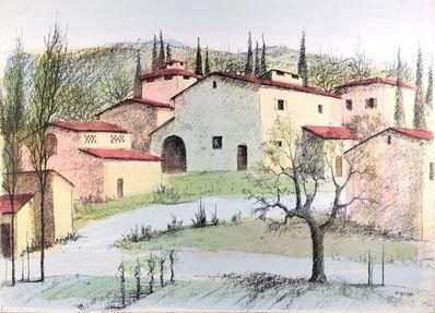 Paolo Toschi, 'Landscape', 1980s