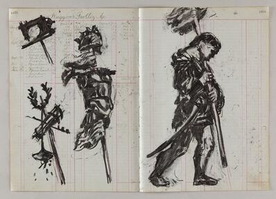William Kentridge, 'Bearers of Insignias', 2014