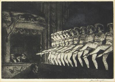 Dame Laura Knight DBE RA RWS, 'A Chorus', 1923