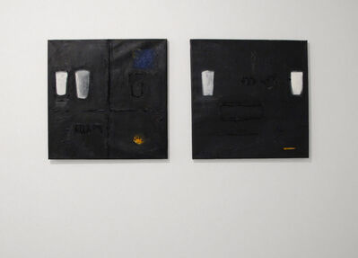 Endale Desalegn, 'Diptych, Milk and Darkness 9 (Witet/Chiema 9) (left) and Milk and Darkness 7 (Witet/Chiema 7)', 2014
