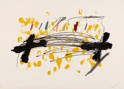 Antoni Tàpies, 'La Clau del Foc 15', 1973