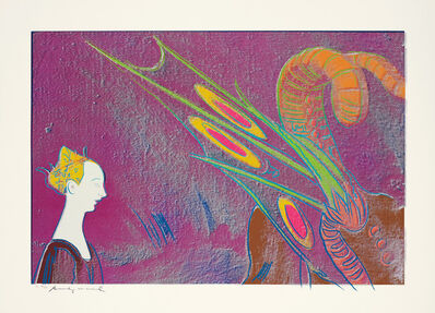 Andy Warhol, 'Details of Renaissance Paintings (Paolo Uccello, St. George and the Dragon, 1460)', 1984