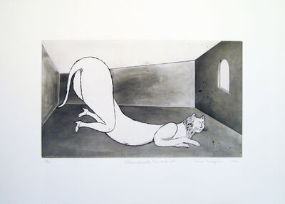 Louise Bourgeois, 'Champfleurette, the white cat', 1994
