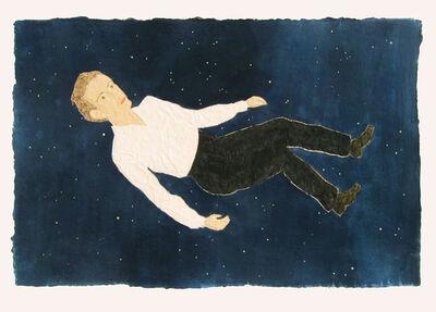 Stephan Balkenhol, 'Schwebender Mann', 2008