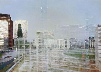 Michael Wesely, 'Leipziger Platz, Berlin (6.8.1999 - 6.12.2000)', 2014