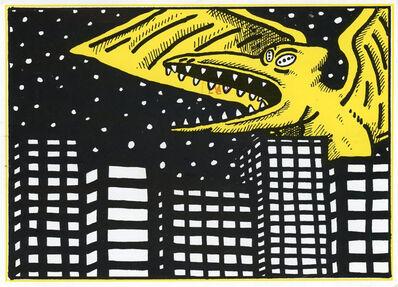 David Wojnarowicz, 'David Wojnarowicz illustrated announcement ', 1983