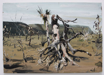Allison Schulnik, 'Burnt Tree #4', 2008