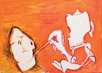 Maria Lassnig, 'Vom Tode gezeichnet', 2011