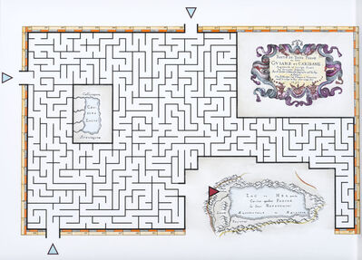 Andres Matias Pinilla, 'Mapa laberinto #3', 2016