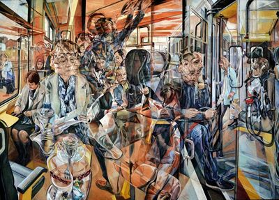 Clive Head, 'The Cherry Train', 2017