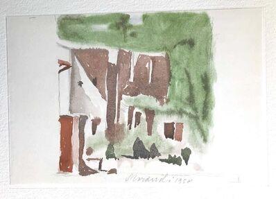 Giorgio Morandi, 'Landscape and Buildings', 1973