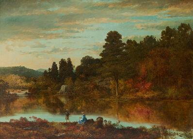 Joseph Morviller, 'Autumn Afternoon', 1862