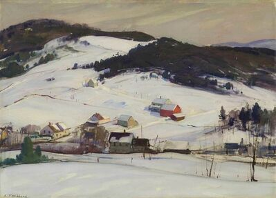 Aldro Thompson Hibbard, 'Winter, Vermont', 20th Century