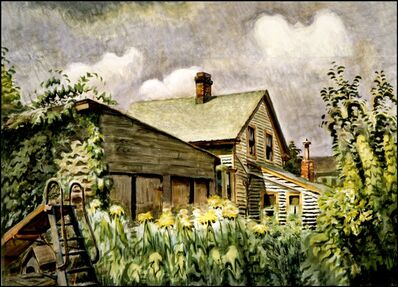 Charles Ephraim Burchfield, 'August Morn', 1933-1949