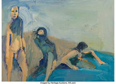 William Theophilus Brown, 'Bathers', 1958