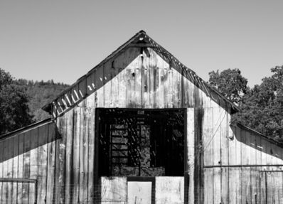 Jim Banks, 'Empty Barn, Napa Valley, California', 2019