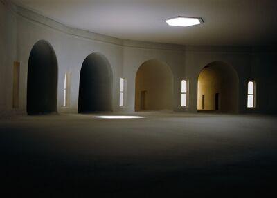 James Casebere, 'Converging Hallways From Left', 1997