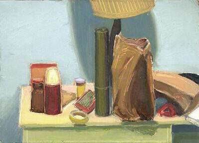 John Goodrich, 'Paper Bags and Lamp', 1974