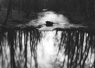 Paul Caponigro, 'Reflecting Stream, Redding, CT', 1968