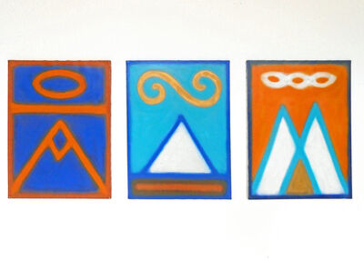 Scot Borofsky, 'Triptych', 1988