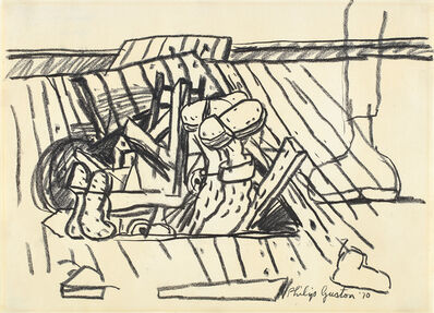 Philip Guston, 'Drawing for Cellar', 1970