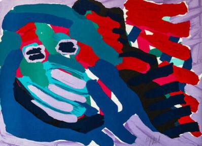 Karel Appel, 'Another Blue Head Again', 1978