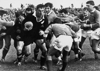 Peter Bush, 'NZ vs France, 2nd Test, Athletic Park, Wellington, New Zealand', 1968