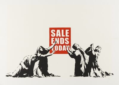 Banksy, 'Sale Ends 'LA Edition'', 2007