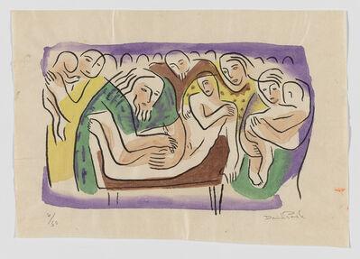 David Park, 'Circumcision Instituted, from the Genesis series', ca. 1934