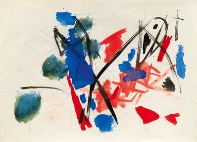 Ernst Wilhelm Nay, 'Untitled (Aquarellskizze)', 1953