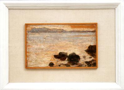 MATO CELESTIN MEDOVIĆ, 'Twilight at Sea', 1898-1901