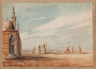 John Prendergast, 'Tombs of Caliphs, Cairo'