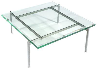 Poul Kjærholm, 'Glass and Chromed Metal Coffee Table', circa 1960