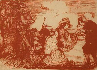 Charles Edward Conder, 'A Pastoral Fantasy', ca. 1904