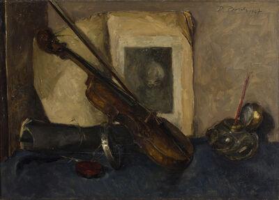 Dino Boschi, 'Still life with violin', 1947