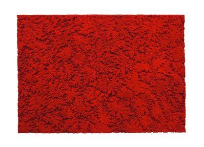 Loris Cecchini, 'Stratashades (Red)', 2014