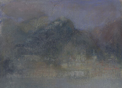 Nicholas Herbert, 'Landscape L1136 - Amalfi Series, The Town of Atrani from the Sea II (in the Pompeian style)', 2018