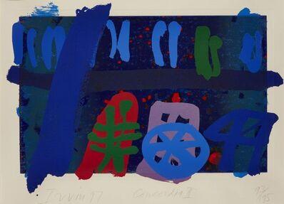 Albert Irvin RA, 'Concordia I & II', 1997