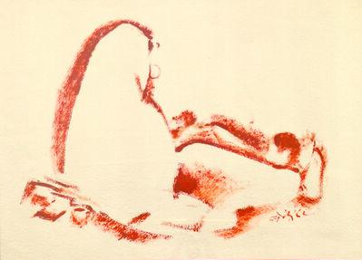 N. S. Bendre, 'Mother & Child', 1989