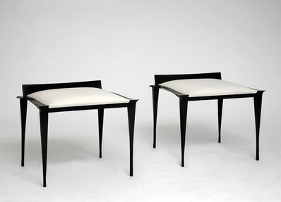 Anasthasia Millot, 'Pair of Stools in Bronze', 2014