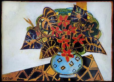 Françoise Gilot, 'African Violets', 1971