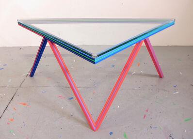 Kelley Johnson, 'Untitled Radio Lounge Series (side table/stool)', 2018