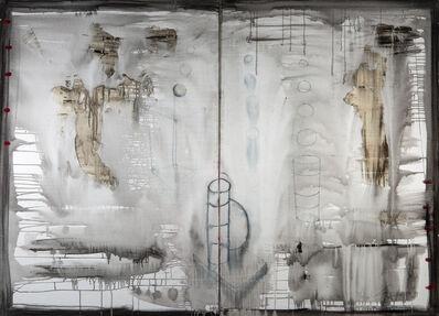Yolanda Gonzalez, 'Metamorphosis with 12 Spheres, diptych', 1993-1997