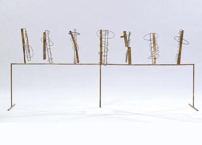 Fausto Melotti, 'Tema e Variazioni XI', 1981