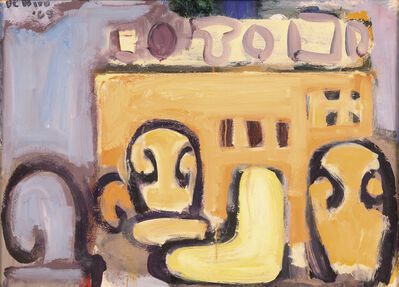 Robert De Niro, Sr, 'Interior with Still Life and Chairs ', 1969