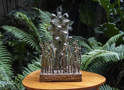 Jim Amaral, 'Hombre en un bosque / Man in a forest', 2011